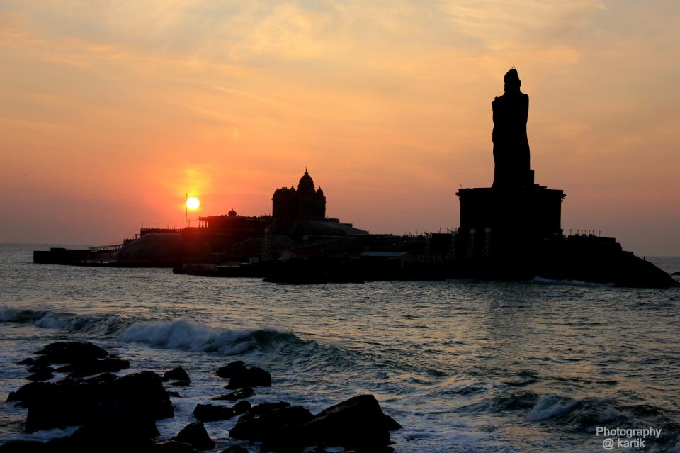 Kanyakumari India  City new picture : Kanyakumari Sunrise India