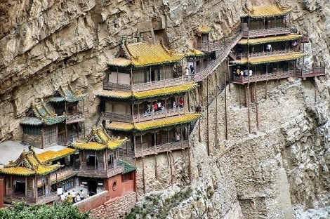 Mount Heng in China's Snaxi Provience