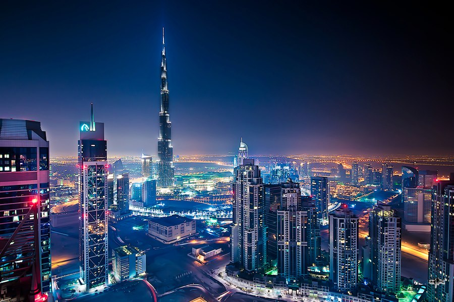 Burj al Khalifa Top View Burj al Khalifa Dubai