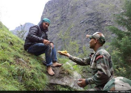 love for country and love for its people  indian army