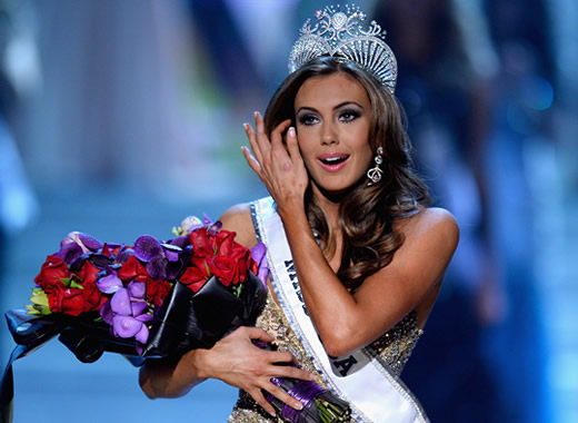 Miss Connecticut Erin Brady wins Miss USA 2013 pageant