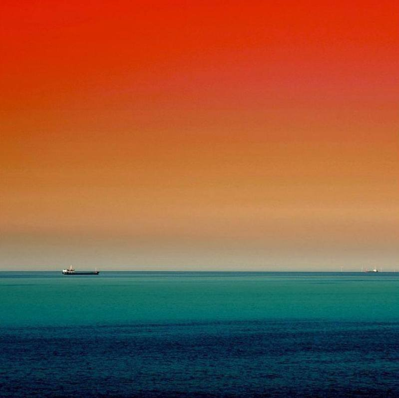 The Sea Under the Red Sky BY OLLI KEKALANEN