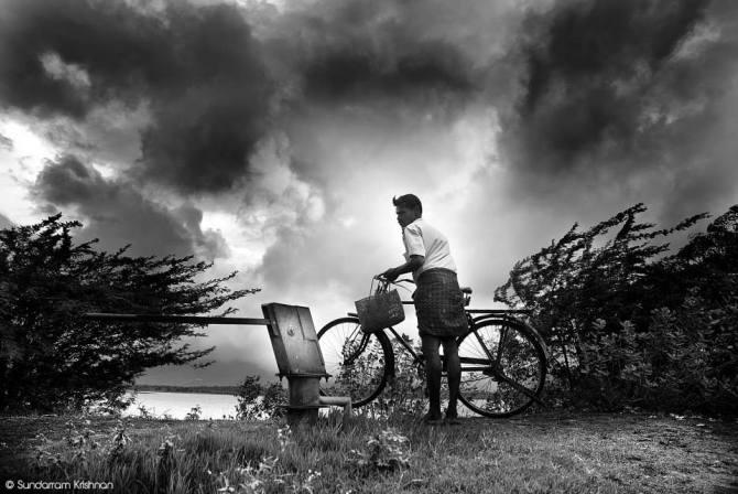 A glimpse of monsoon. (Shot in Tenkasi, Tamilnadu)