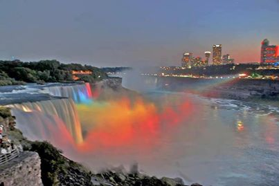 Niagara Falls in different light. !