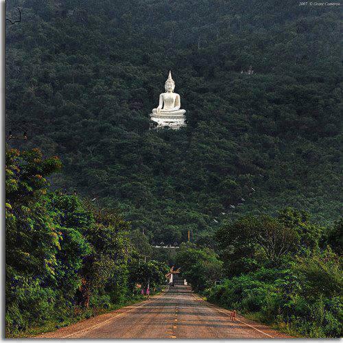 SACRED BUDDHA TEMPLE, ANURADHAPURA , SRI LANKA.