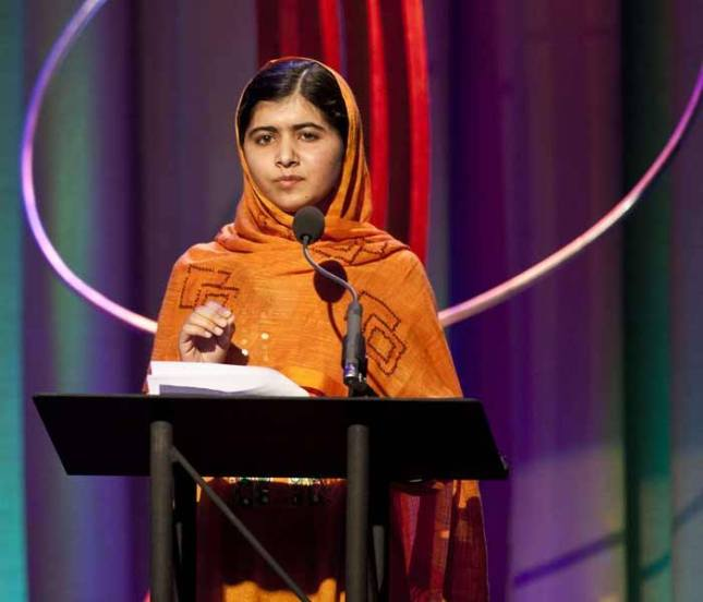Malala Yousafzai is Harvard's 'humanitarian of the year'
