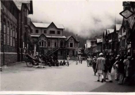 Vintage Mall Road Shimla...