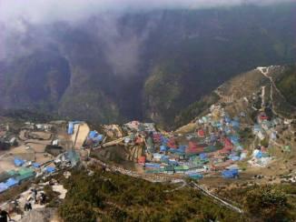 Arial-View-Namche-Bazaar-Nepal