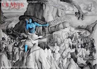 Lord-Shiva-By-Ujan-Dutta-Art 3