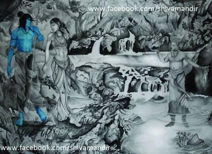 Lord-Shiva-By-Ujan-Dutta-Art 5