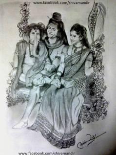 Lord-shiva-Ujan-Dutta-Art