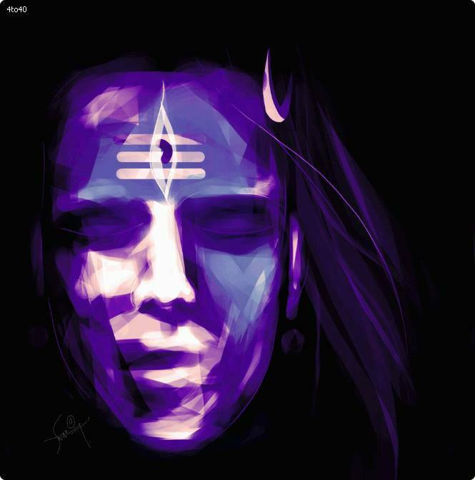 Stunning-Art-Creation-Of-Lord-Shiva's-Expression