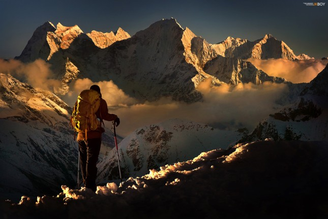 29-Photos-That-Will-Inspire-You-To-Travel-Kangtega-Peak-Nepal