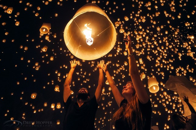 29-Photos-That-Will-Inspire-You-To-Travel-Yee-Peng-Lantern-festival-In-Thailand