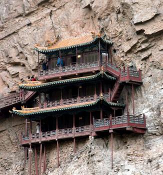 XuanKongSiHangingTemple3