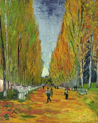 Masterpiece-THE-ALLEE-OF-ALYSCAMPS-VincentVanGogh