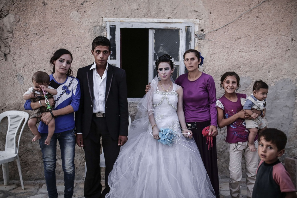 ANewlyMarriedCouple-KobaneSyria