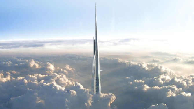 FutureSkycrapper-DubaiAKilometerLongBuilding